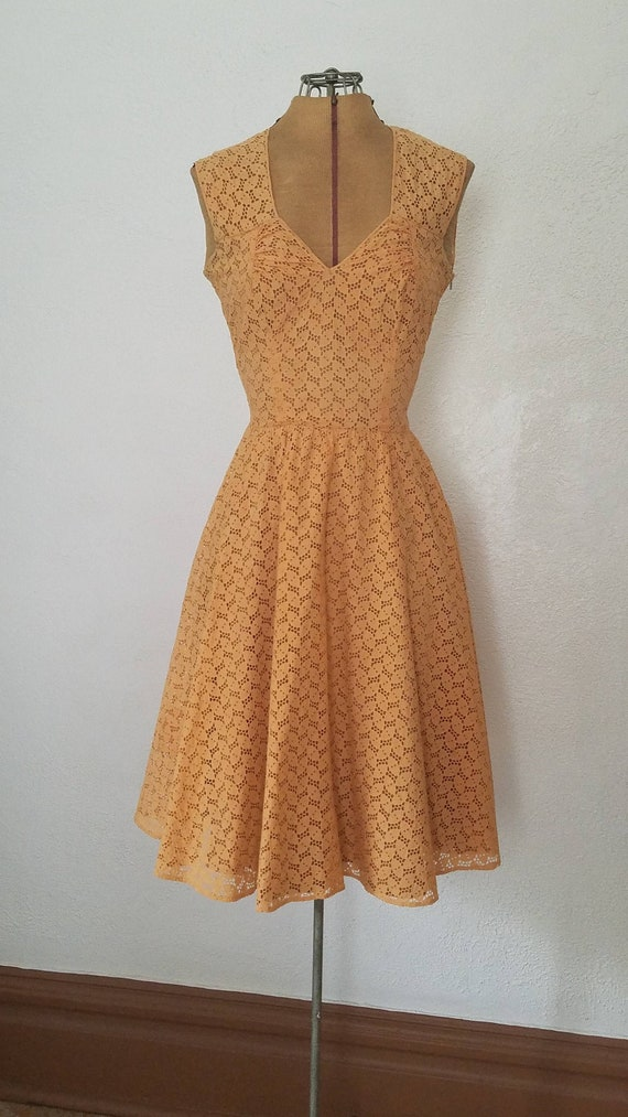 1940s Dress - 40s dress - 40s Lace Dress - 40s Swi