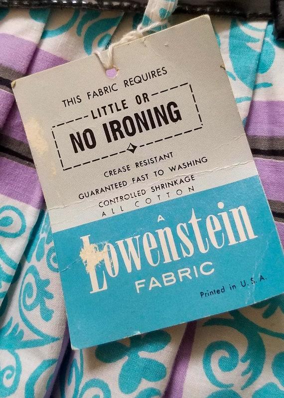 Pristine Posies - 50s 1950s Novelty Print Skirt -… - image 4