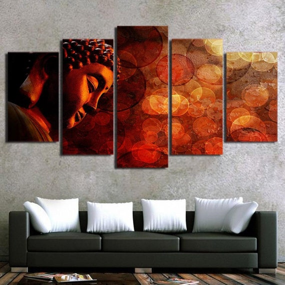 36f371a8bec Premium Quality Canvas Printed Wall Art Poster 5 Pieces   5