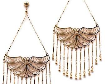Edie Sedgwick Inspired Butterfly earrings  Factory Girl