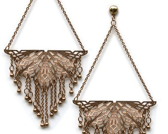 Original Butterfly earrings from the movie Factory Girl