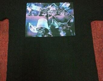 Rare cult movie Gremlins x Japan Brand MilkBoy tshirt / limited / big logo / gizmo / mogwai / horror