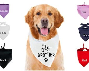 Big BrotherSister Dog or Cat Bandana