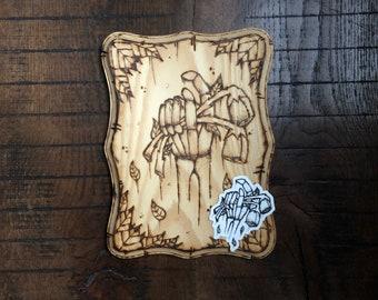 LoveFades - ILvisuals Wood Burning & sticker pack.