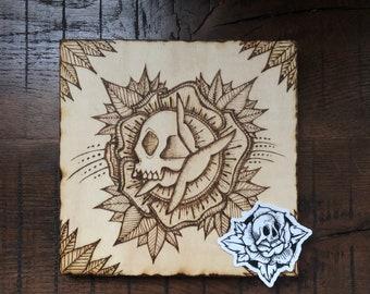 LifeNDeath - ILVisuals wood burning & sticker pack