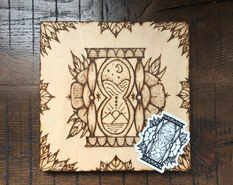 OnlyTime - ILVisuals wood burning sticker pack