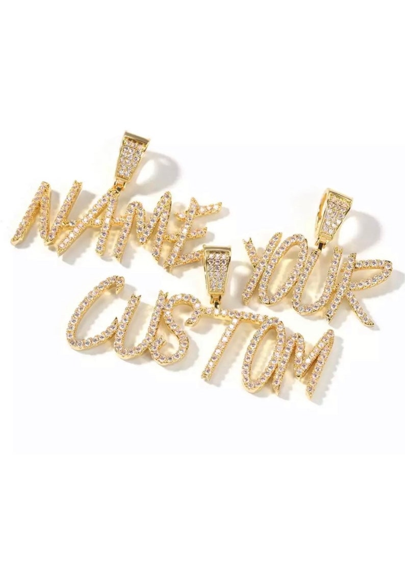 Diamond Nameplate\u2022 Personalized Name Jewelry\u2022 Name Necklace\u2022 Name Necklace\u2022 Bridesmaids Gift\u2022 Baby Shower Gift\u2022 Gift for Her \u2022 Birthday