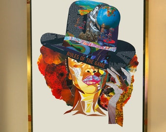 BADU Samplism 'Women of Colour' Print