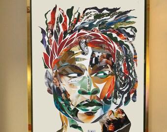 SERENA Samplism 'Women of Colour' Print