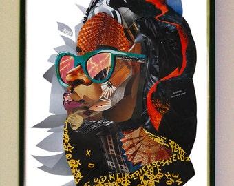 JEAN Samplism 'Women of Colour' Print