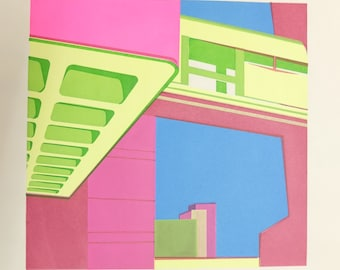 TRELLICK TOWER 'In Yer Face' Screenprint