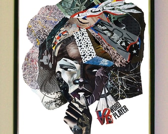 LYRIC Samplism 'Women of Colour' Print