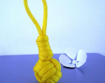 Cone coil Paracord keychain