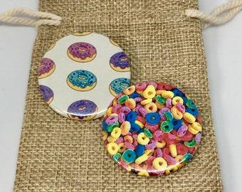 Donuts, veneer Froot loops