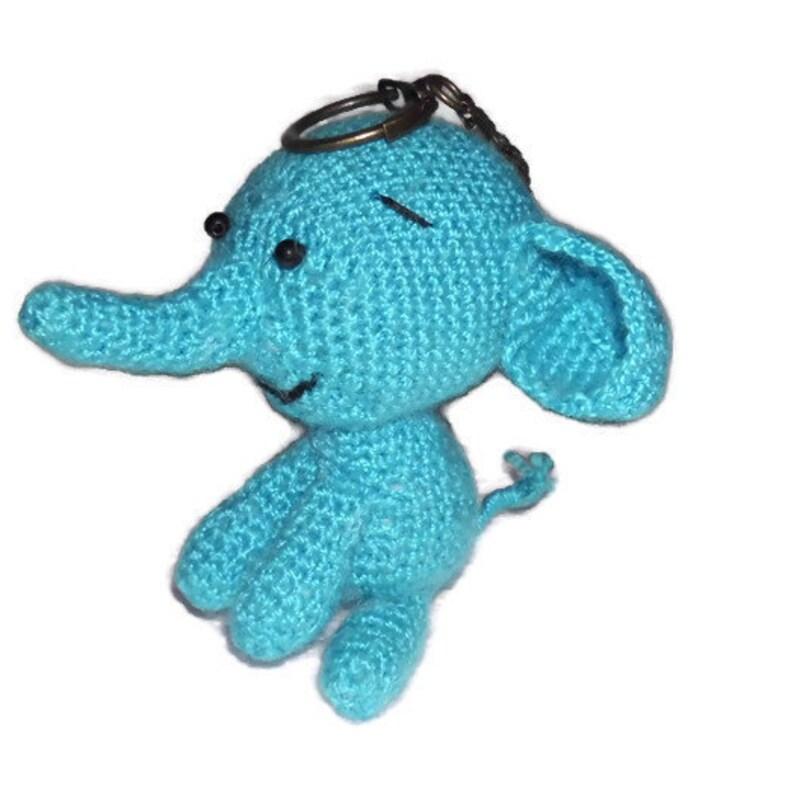 Handmade Crochet Keyring, Crochet Elephant Keyring, Handmade ... | 794x794