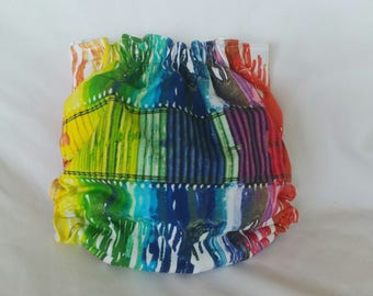Melted Crayons Cover Cloth diaper