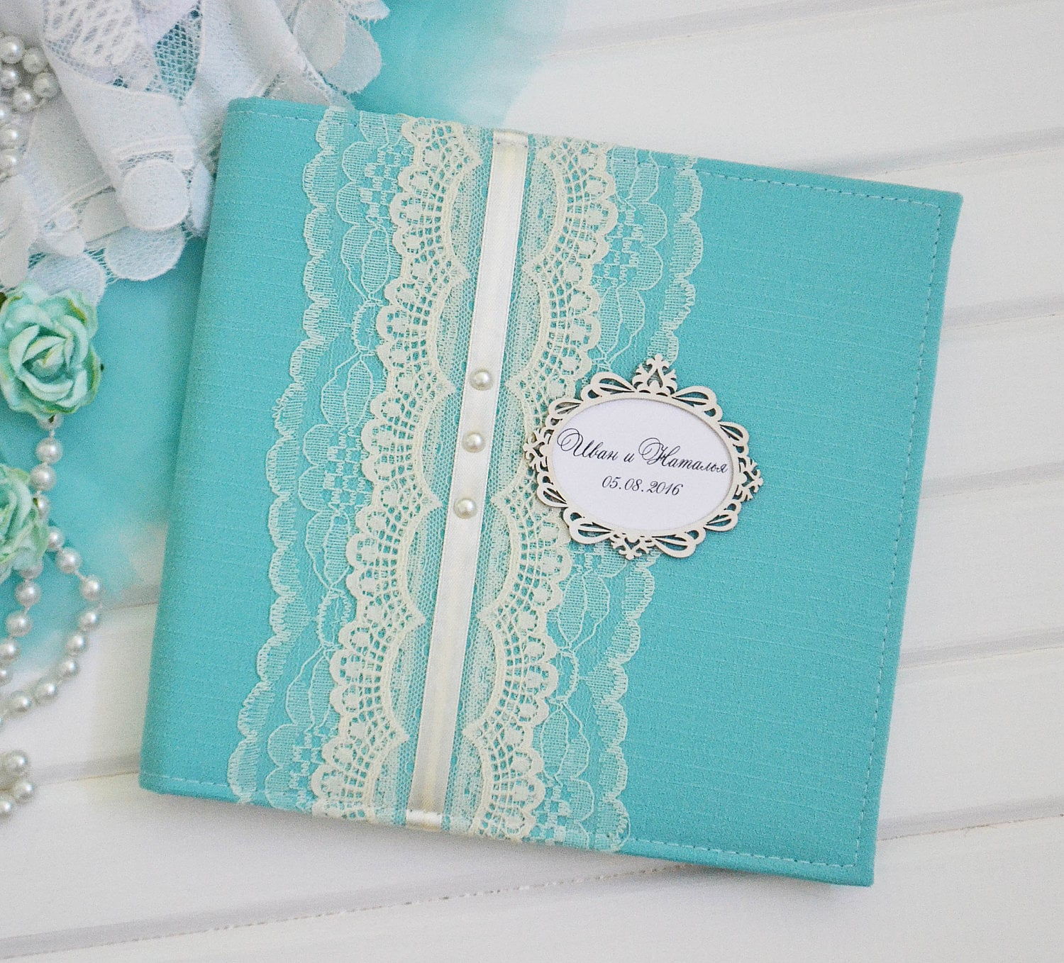 Wedding Photo Books Uk: Tiffany Blue Photo Album Instax Wedding Guest Book