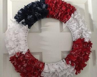 Bandana Flag Wreath