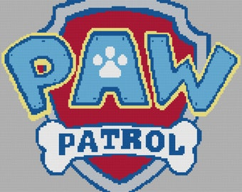 Paw Patrol Crochet Etsy