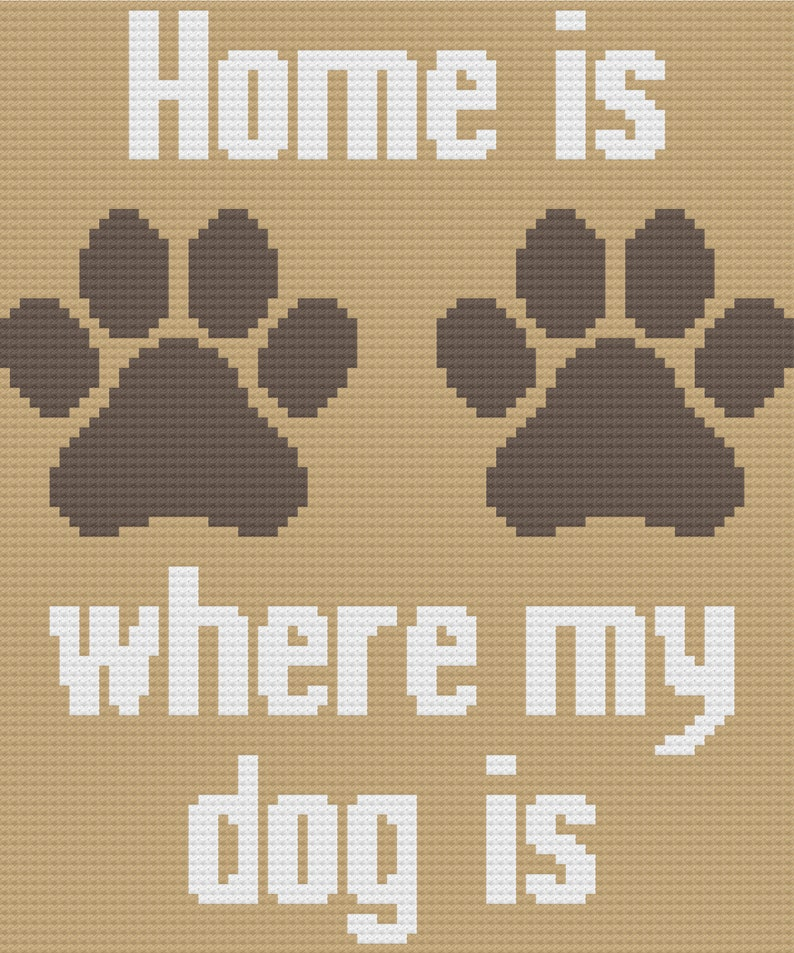 Home Is C2C Graph and Written Pattern