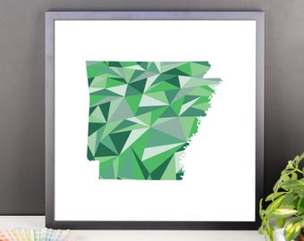 ARKANSAS State Pattern Map Print, Arkansas Poster, Arkansas Wall Art, Arkansas Art, Arkansas Gift, Arkansas Decor, Arkansas Print, Arkansas