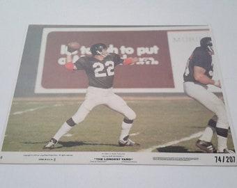 burt reynolds the longest yard lobby card no.8 dated 1974 size 8x10 b39e8ffc9