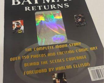 batman and batman returns official movie magazines michael keaton