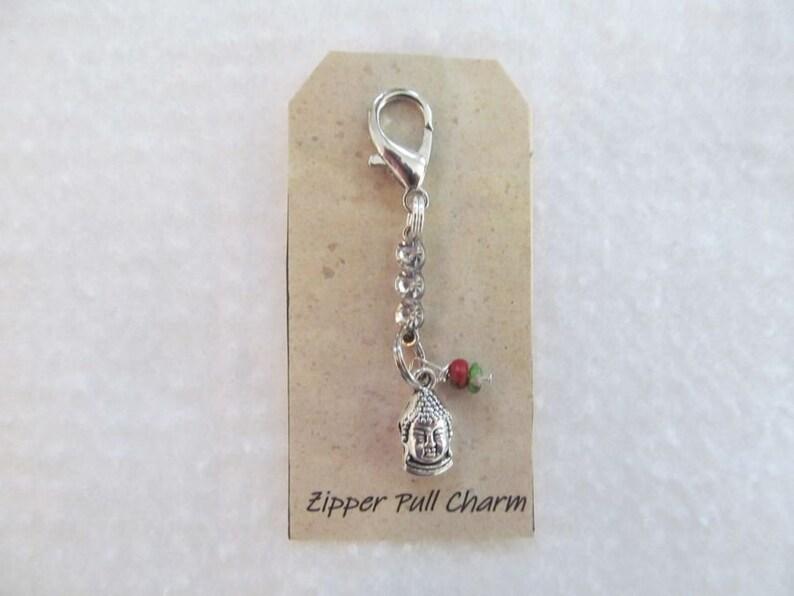 Purse Charm Pink Ribbon Bone Charm for Zipper Pull Dog Collar Charm Bracelet