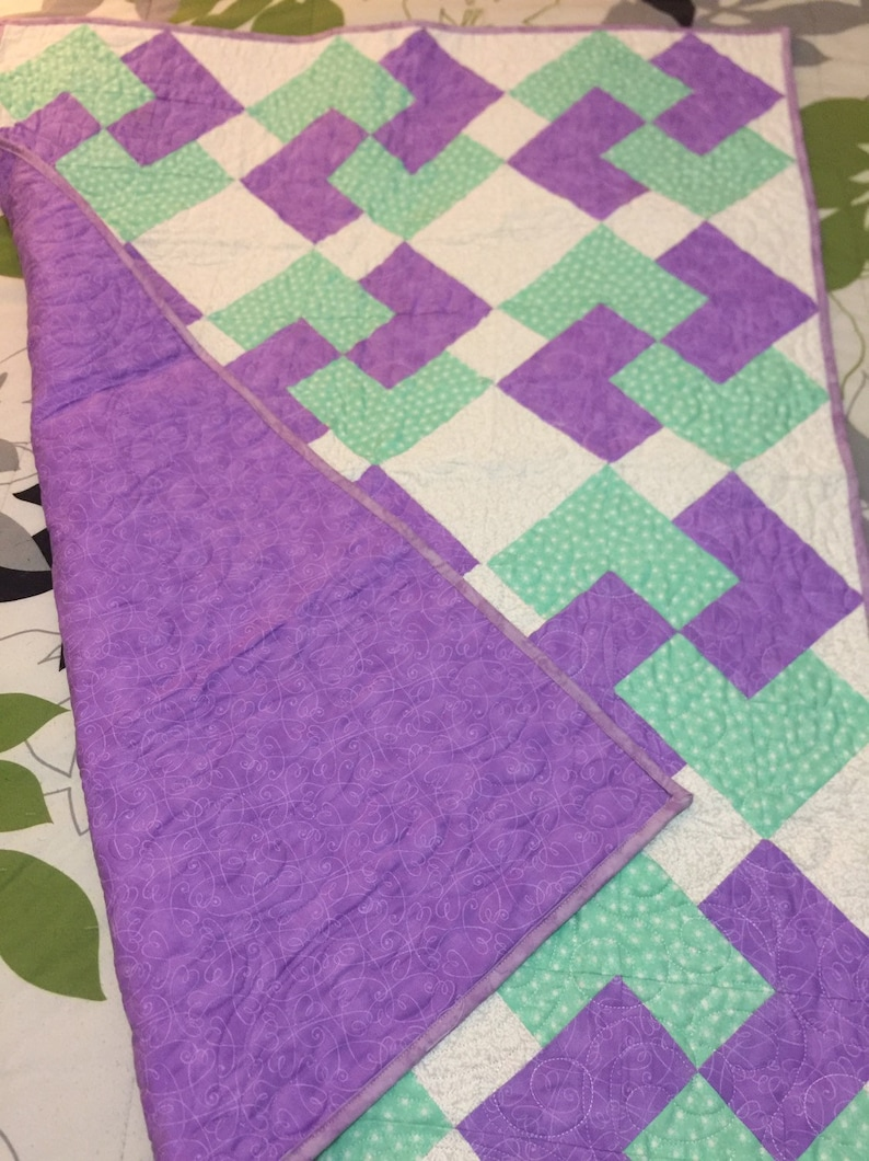 Card Trick Baby Quilt