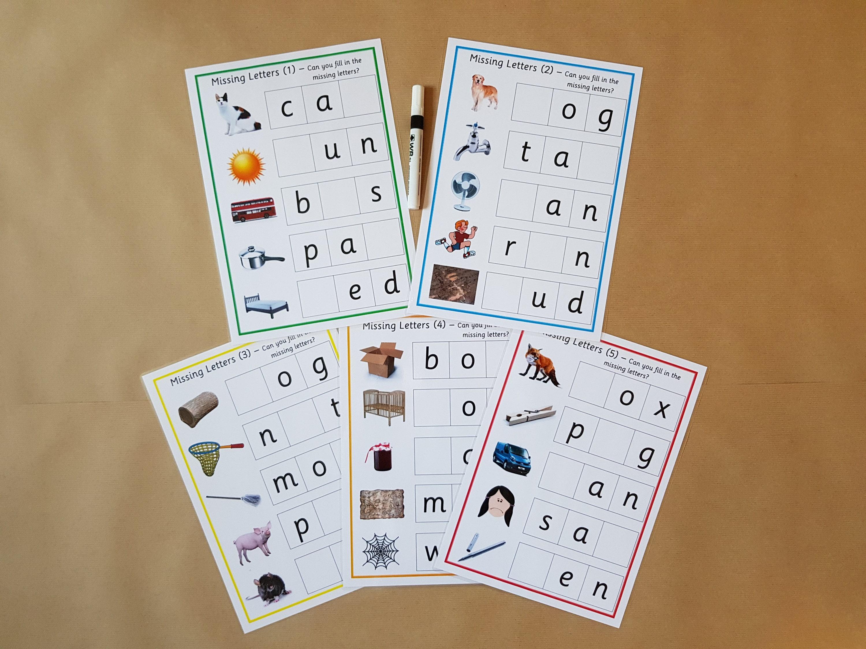 Groß Cvc Worte Einer Tabelle Für Den Kindergarten Fotos - Super ...
