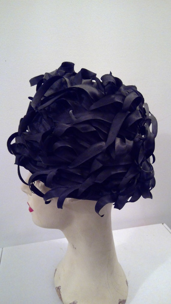 Miss Dior created by Christian Dior vintage hat 1… - image 5