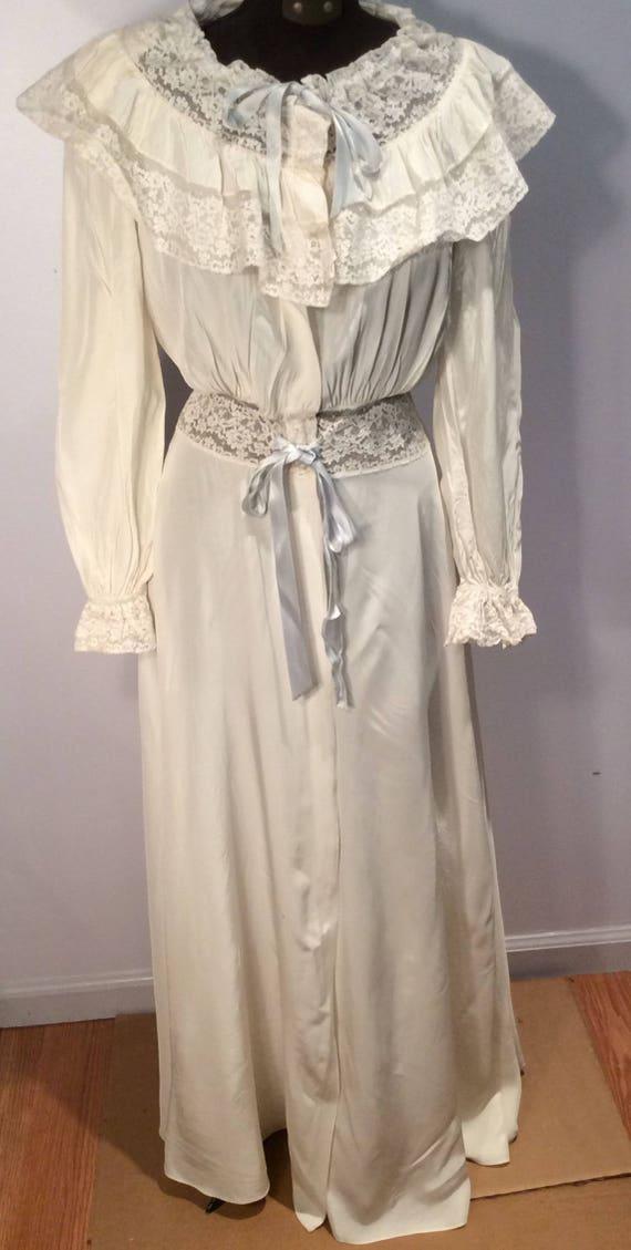 Radcliffe peignoir dressing gown vintage 1940's ra