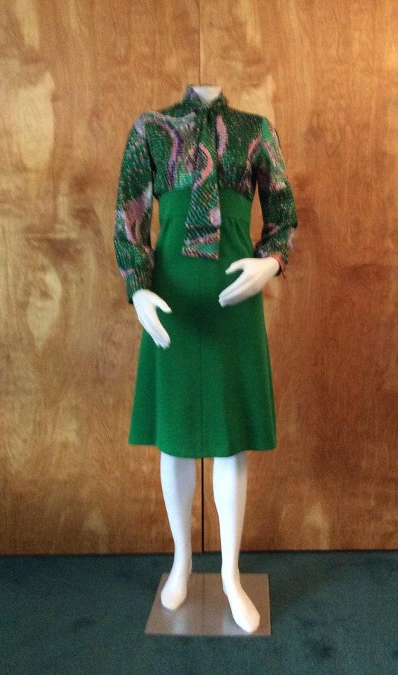 Vintage 1960's Norman Wiatt Knits dress with jacke