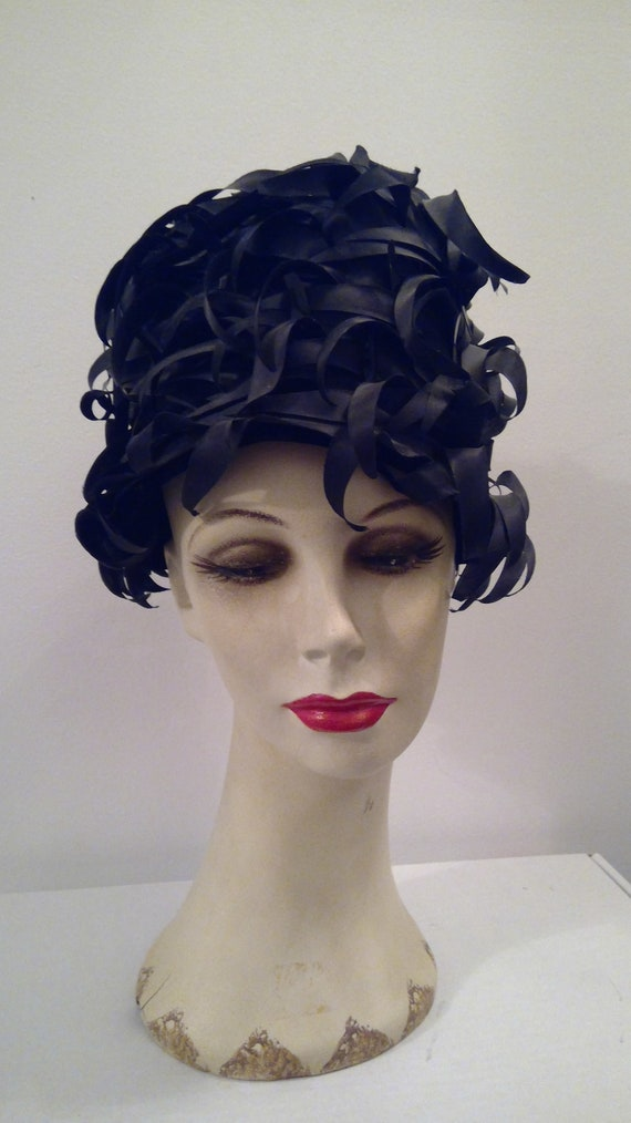 Miss Dior created by Christian Dior vintage hat 1… - image 8