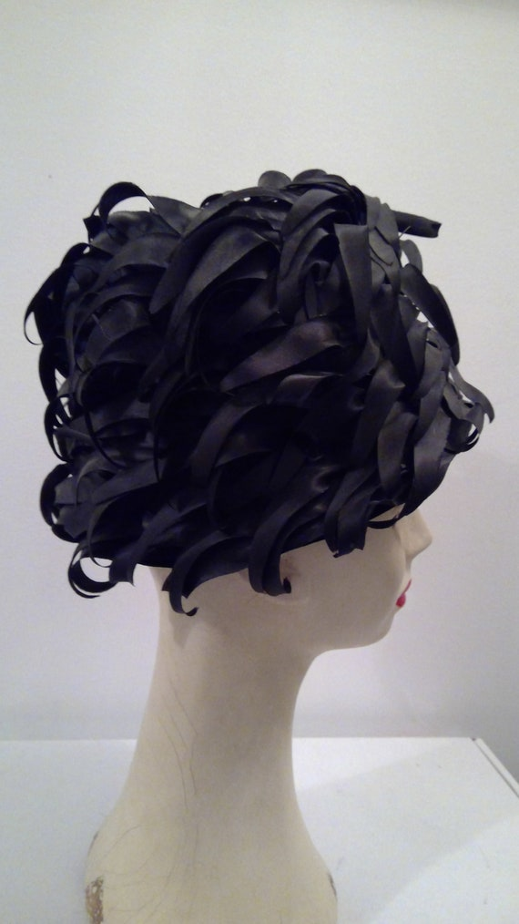 Miss Dior created by Christian Dior vintage hat 1… - image 7