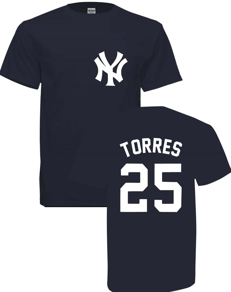 sale retailer 9bf1b ae7c6 Sale!!!!! New York Gleyber Torres 25 T-shirt !! free shipping