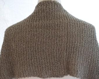 Knitcloth, stole cotton paper yarn, cloth, scarf, summer scarf, ITO