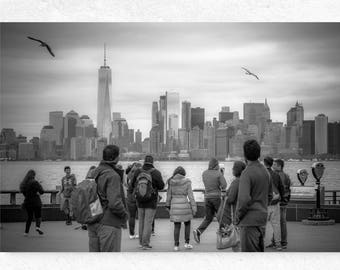 New York Canvas Wall Art, New York City, New York Skyline, New York Wall Print, New York on Canvas, Big Canvas Art, New Homeowner, NYC Photo
