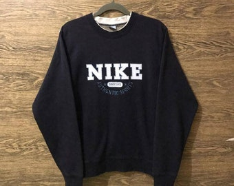cfec30e637 Rare Nike Sweatshirt Big Embroidery logo Nice design Size on Tag Small.
