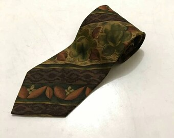 ca848642f Rare Hugo Boss Necktie. Vintage Tie. Made in Italy.