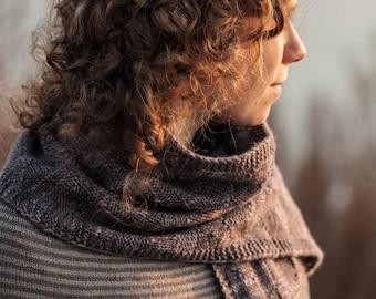 Knitting Pattern PDF Winkelgasse Wrap Instant Download