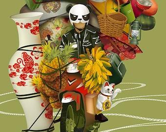 Vietnam Removal Co.   illustrated giclée print