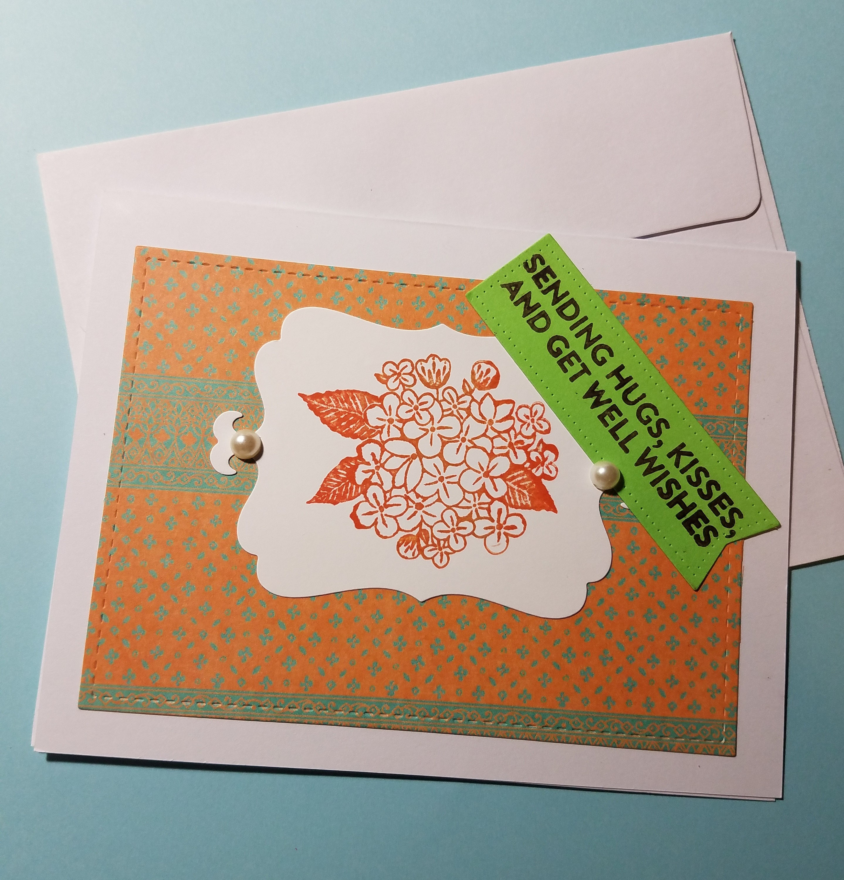 Get Well Card Sympathy Card Sending Hugs Kisses And Get Well