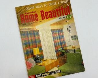 1965 - Australian Home Beautiful - July Edition