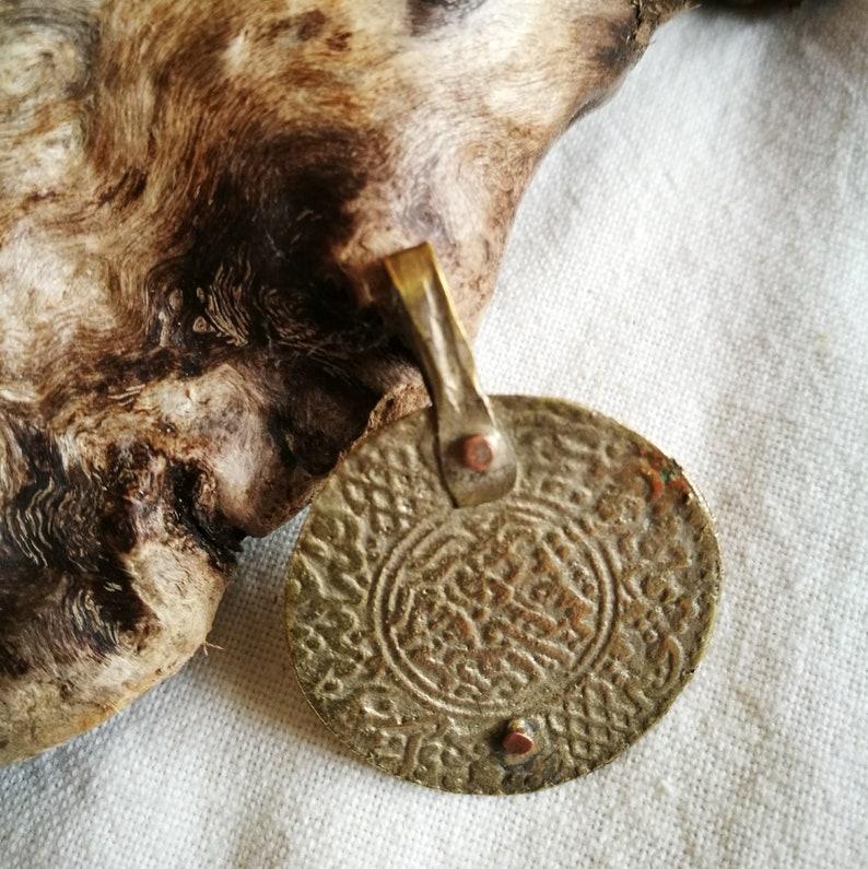 Unique Antique Coin Berber Pendant