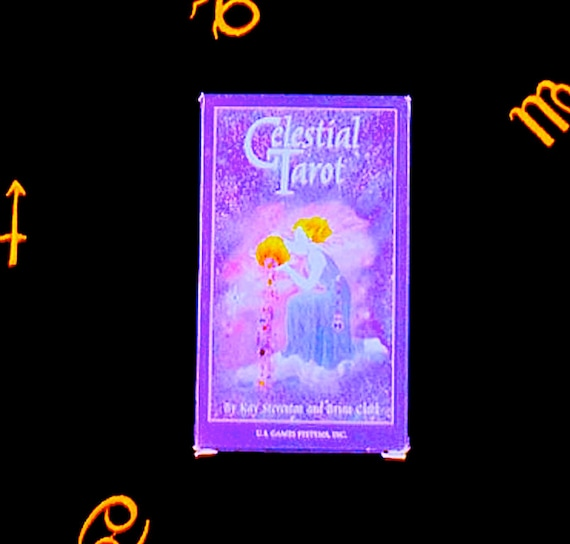 Tarot Deck The Celestial Tarot First Edition Tarot Cards Vintage Tarot Deck Vintage Halloween Fortune Telling Deck Tarot Card Deck