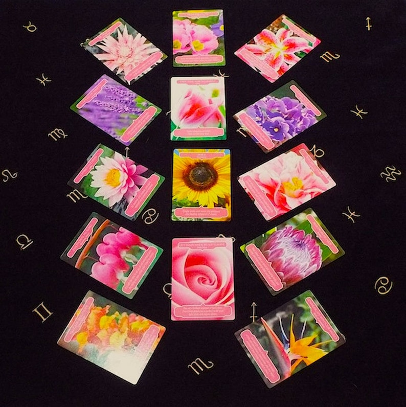 Tarot Deck /Flower Therapy Oracle Cards