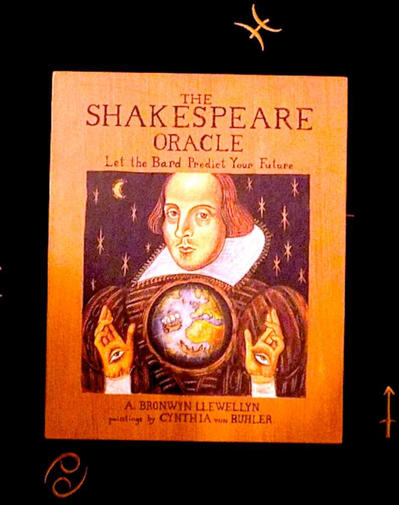 Tarot Shakespeare Oracle /FIRST EDITION!!!!!Tarot Cards,Vintage Tarot  Deck,Rare Tarot Deck,Tarot First Edition,Fortune,Vintage Halloween
