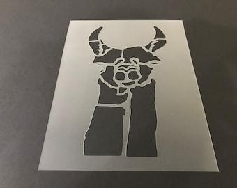 Lama #2 Stencil Buy 2 Get 1 Free! Mix /& Match