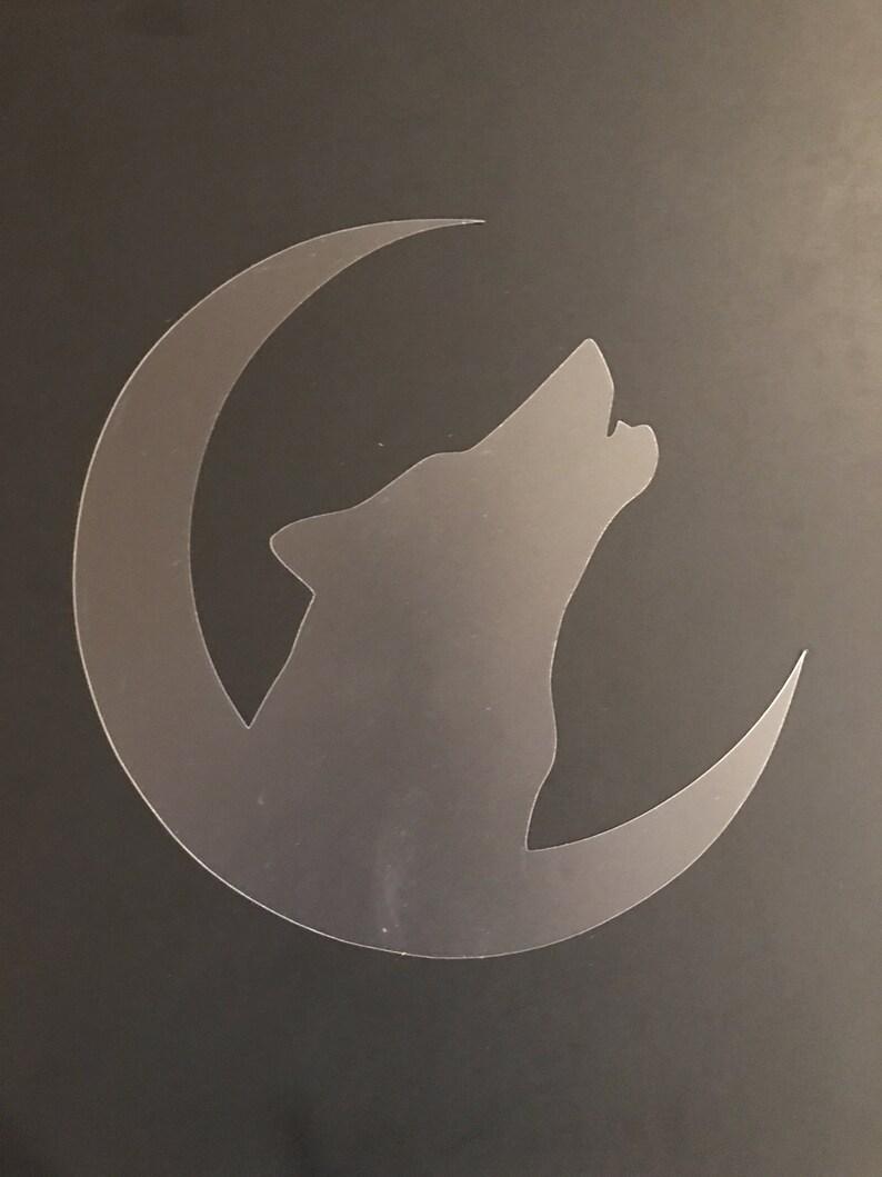 Wolf #1 Stencil Buy 2 Get 1 Free! Mix /& Match